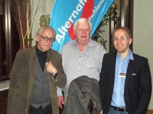 Martin Renner, Prof. Dr. Friedhelm Tropberger, Dr. Christian Blex